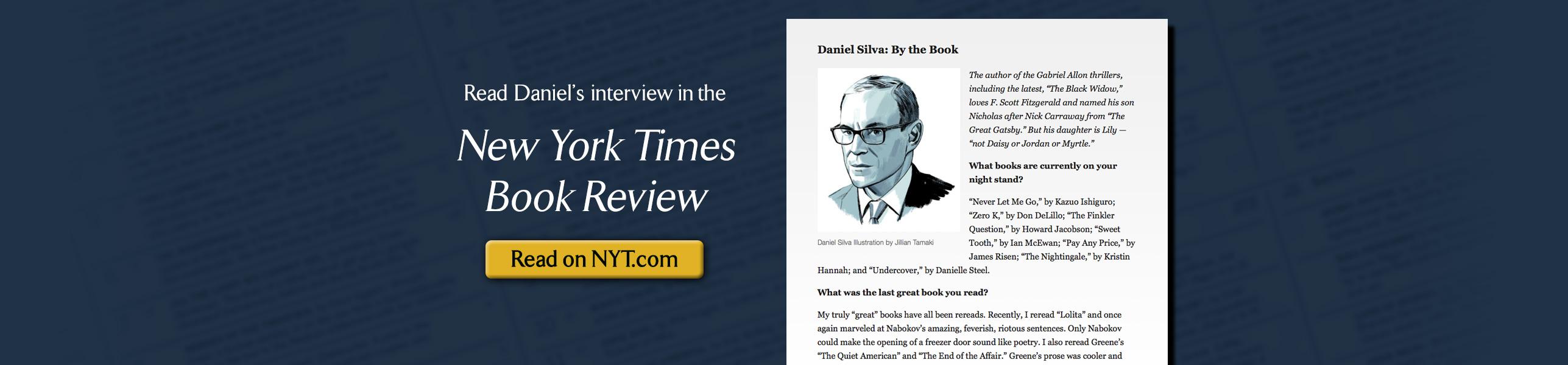 Daniel Silva in By the Book