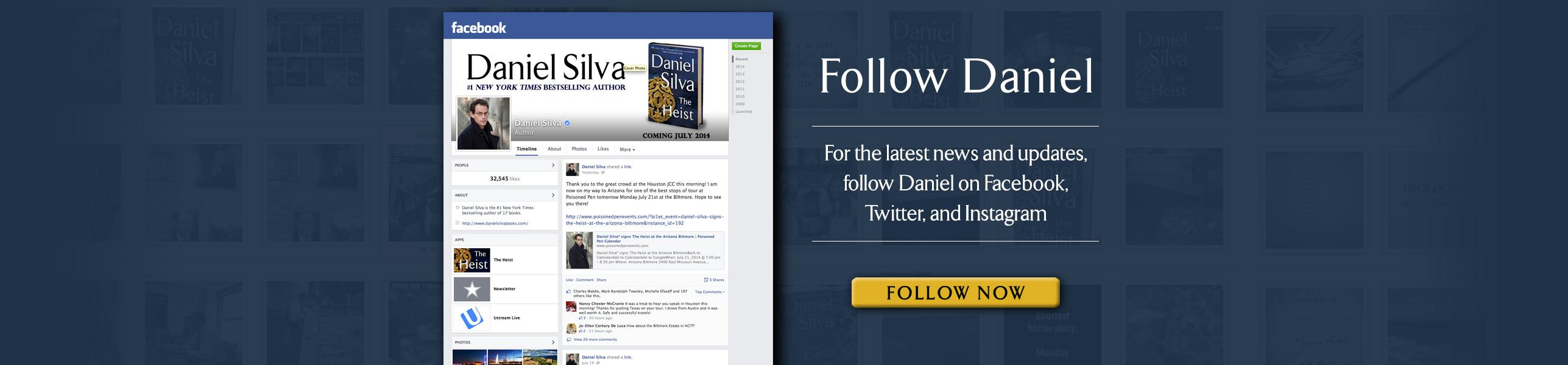 Follow Daniel on Social Media