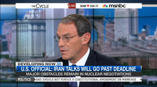 Daniel Silva visits The Cycle on MSNBC to discuss The English Spy