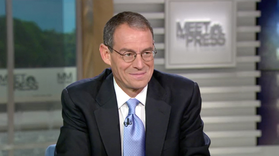 Daniel Silva and Chuck Todd on Meet the Press